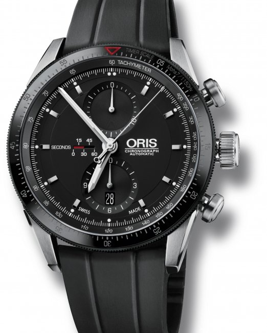 At the heart of innovation and design, the Oris Artix GT Chronograph is the latest addition to the Oris family. Building on Oris' Motor Sports heritage, the watch combines timeless contemporary design with sporty elegance