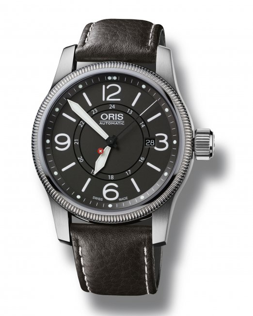 The Oris Swiss Hunter Team PS Edition was developed as a direct homage to the historic Patrouille Suisse Hunter planes, and a percentage of all sales is donated to the Swiss Hunter Team to help maintain the iconic planes. The watches feature the original big crown and boast Oris' characteristic quality Swiss automatic mechanical movement