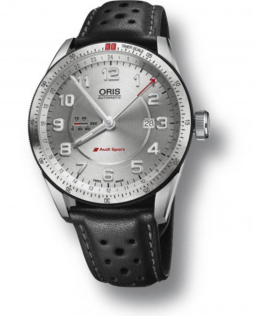 Swiss watch manufacturer Oris has been producing timepieces inspired by the high-speed world of motorsport for more than 45 years. That know-how has now been channelled into the new Audi Sport GMT – the latest product of its formidable partnership with Audi Sport